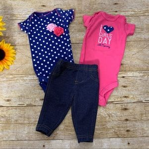 Newborn baby bundle by Carter's is like new